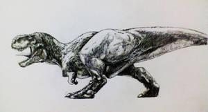 Tyrannosaurus rex by Zombiraptor