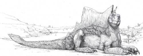 Spinosaurus aegyptiacus by Zombiraptor