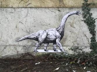 Brachiosaurus tastes ivy by Zombiraptor