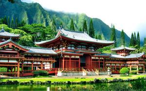 Buddhist Temple C by scottdoom