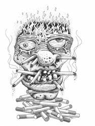 La Vie En Fumer by Krow-Trayllis