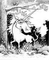 Unicorn by Krow-Trayllis