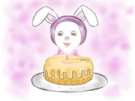 Birthday cake by Tosita
