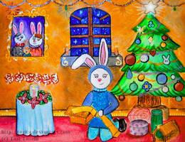 Christmas night by Tosita