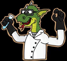Reptilian scientist by Anneke174