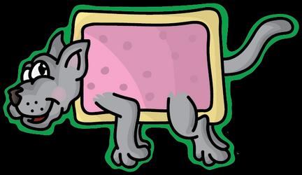 Nyan cat by Anneke174