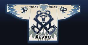 abecedary Hockey Jersey -Bears by EnemyHitman