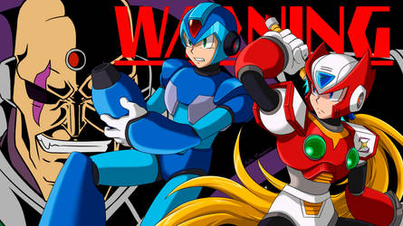WARNING - Megaman X by Ayla-Kazemi
