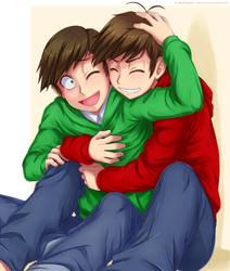 Let oniichan hug you! by Ayla-Kazemi
