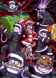 Osomatsu-san - Merry ChristMatsu! by Ayla-Kazemi