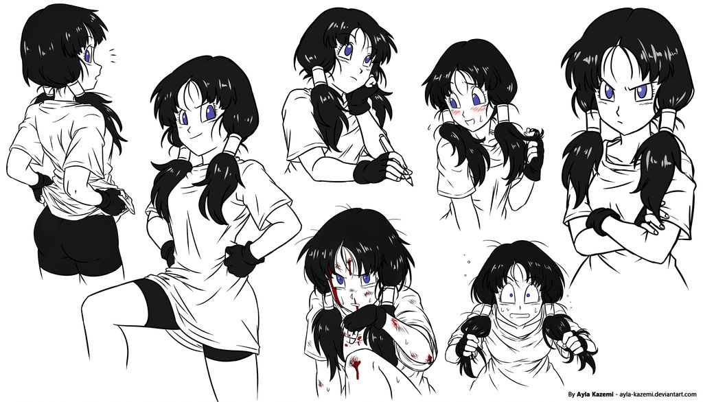 Doodles Videl by Ayla-Kazemi on DeviantArt