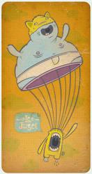 fatty fatty parachute by himnofeda