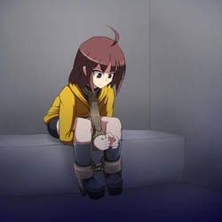Linne in the Dungeon by LongHaired-Chihuahua