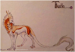 Thistle -{character sheet}- by whitew3r3wolf