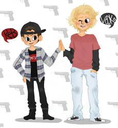 Bro Bros by SlimeBaby