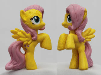 Blindbag Custom: Fluttershy by Aldriona