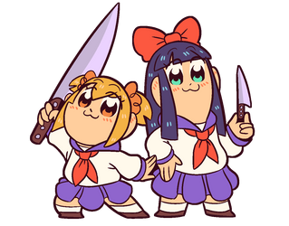 KNIFE BUDDIES!!!!!!!!!!! by hebitonetsu