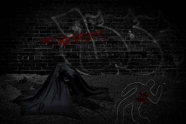 Dark Detective (Without Rain) by NerdgasmNeeds