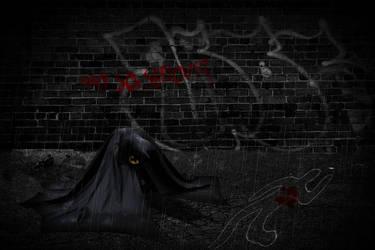 The Dark Detective (With Rain) by NerdgasmNeeds