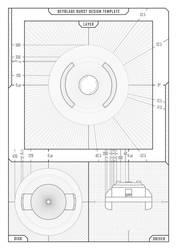 Beyblade Burst - Design Template by model850