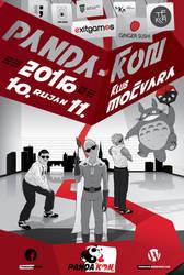 PANDAKON 2016 - poster by model850
