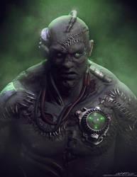 Frankenstein's Monster by crackfiji42