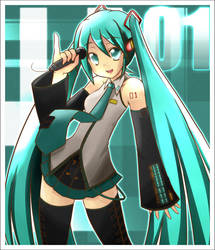Collab: Hatsune Miku by Icetrix