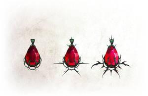 Rose Pendant by EranFowler