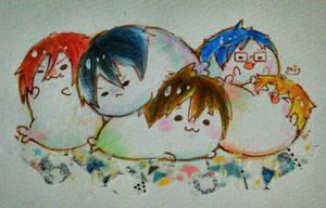 Free! /// seal by Mitsuki-Chizu