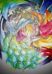 Determination of the knight by Mitsuki-Chizu
