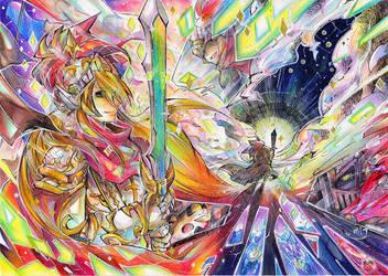 Holy knight Cuchulainn by Mitsuki-Chizu