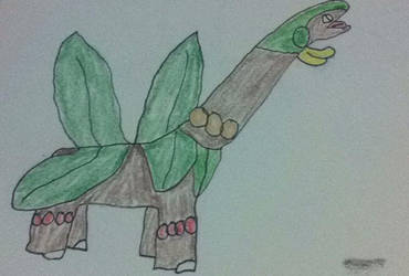 Tropius Reference by Colonel-Sandman