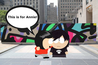 Fight Over Annie by LittleDeez-SP