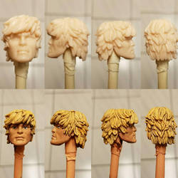 Cast He-man head for a 2000 MOTU project. by efrece