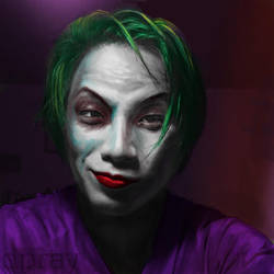 Why So Serious? by Davedsign