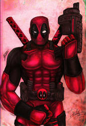 DEADPOOL - Re-Colored by Davedsign