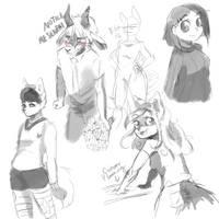 Little Sketches by LowKeyDowKey