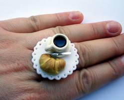 Fimo Ring Buongiorno by Alusaf