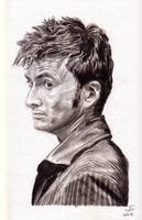 Doctor Who - David Tennant by Shingel