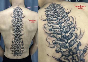 Dark Spine by munlyne