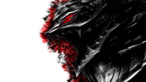 Guts' Black Berserk Rage by Drace-Sylvanian
