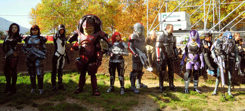 Mass Effect Cosplay group by ShinjiRHCP