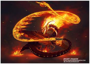 Ghost Dragon by LyntonLevengood