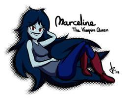 Marceline the Vampire Queen by Rafanas