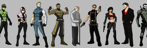 Cast of characters by JoeMDavis