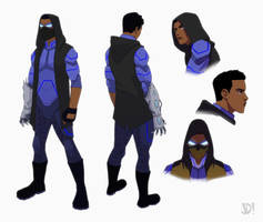 Character Turnaround #2 by JoeMDavis