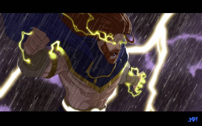 Taranis The Thunderlord by JoeMDavis