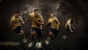 388. Arsenal's Midfield Qartet by RGB7