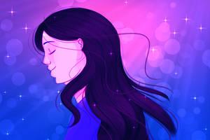 Sketch: Arryn in a Dream by MissLunaRose