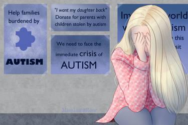 Autism Awareness Hurts by MissLunaRose